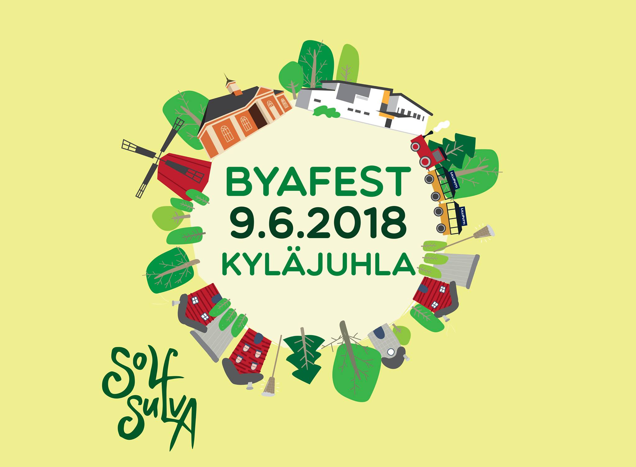 Byafest 9.6.2018 Kyläjuhlat
