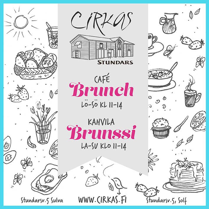 CIRKAS brunch +